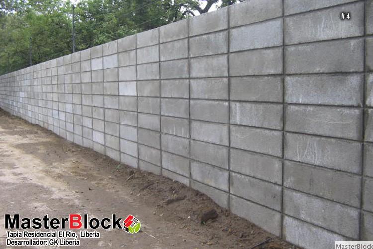 Masterblock Tapias y muros de contencin